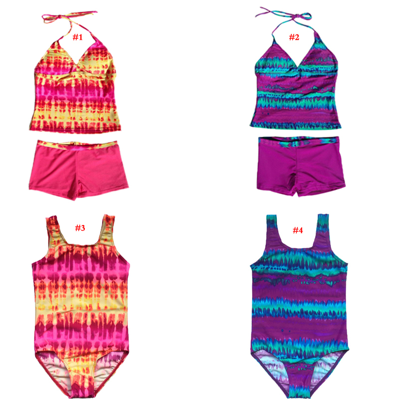 Retail girls swimwear 6-16Y kids students teenagers bathing suits  -  Saletoworlds Store store