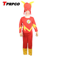 TPRPCO 3 - 7 years Three piece suit Long sleeve Children kid Flash modelling costumes Blitzmann Play clothes Halloween NL952  sc 1 st  AliExpress.com & Flash Kids Costume Promotion-Shop for Promotional Flash Kids Costume ...