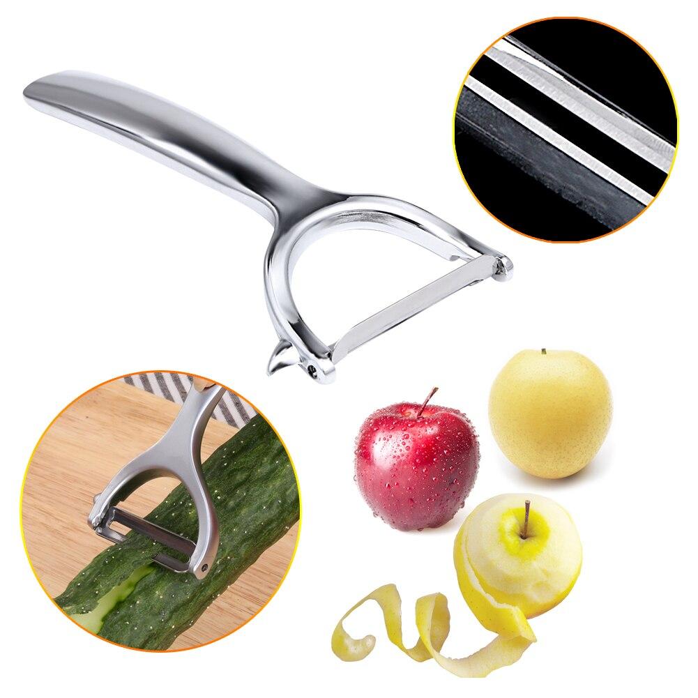1PC Zinc Alloy Fruit Vegetable Peeler Cutter Carrot Slicer Durable Vegetable Zes