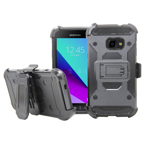 For Galaxy X Cover 4 Heavy Duty Shockproof Armor Case With Kickstand Belt Clip Holster Tough Cover For Samsung Galaxy X Cover 4