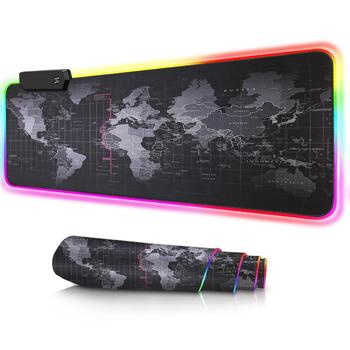 Gaming Mousepad with RGB World Map All Computers & Accessories Computer Accessories Computers & Accessories Mouses color: 25 x 30 cm|30 x 70 cm|30 x 80 cm|40 x 90 cm|RGB 25 x 30 cm|RGB 30 x 70 cm|RGB 30 x 80 cm|RGB 40 x 90 cm