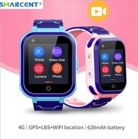 Smarcent T3 3G 4G Smart watch RAM 512MB ROM 256MB 4G video call phone watch WIFI Suitable for Android iOS Smartwatch PK DF33