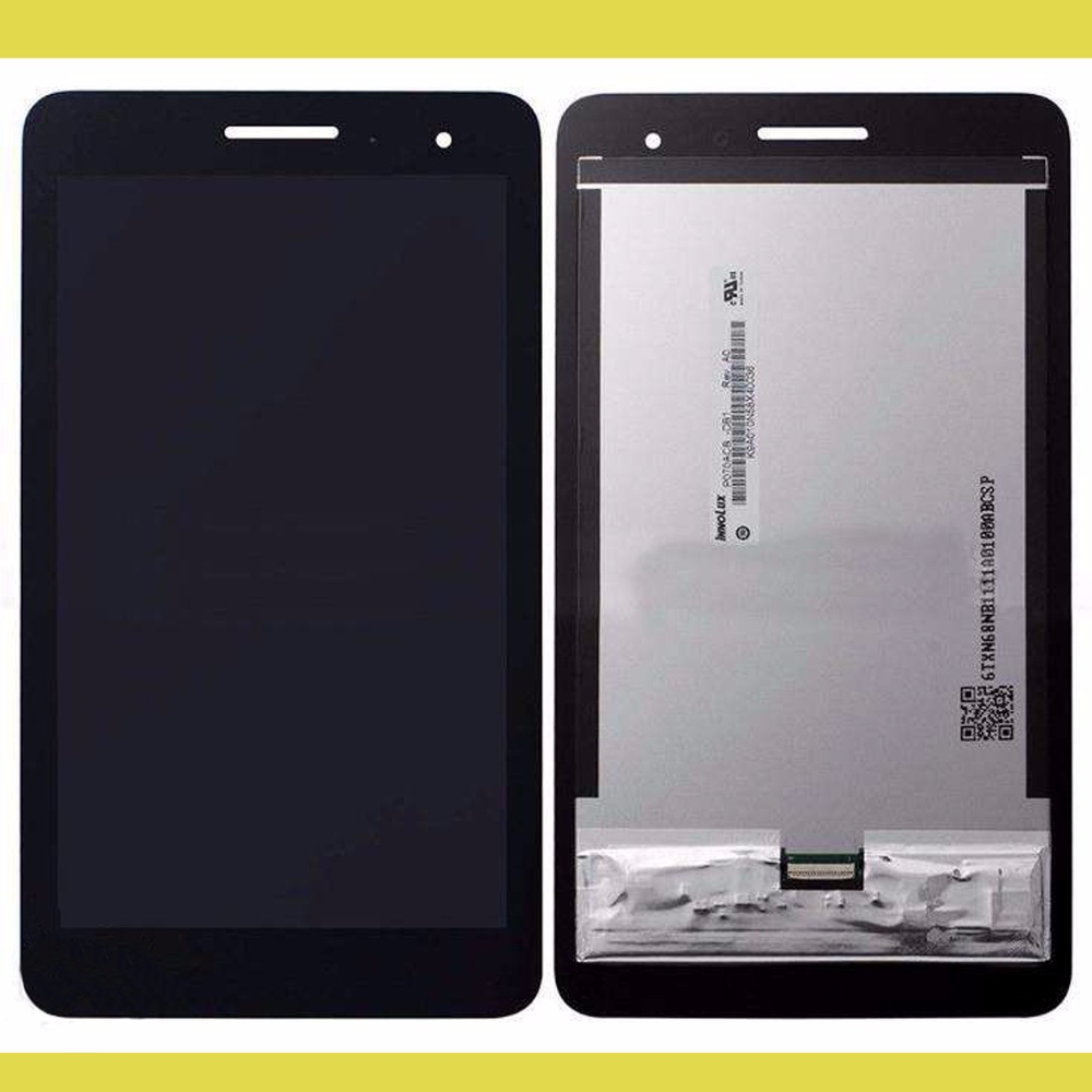 For Huawei Honor Play Mediapad T1-701 T1 701W T1-701W Touch Screen Digitizer Glass Sensor + frame LCD Display Panel Assembly brand new replacement parts for huawei honor 4c lcd screen display with touch digitizer tools assembly 1 piece free shipping