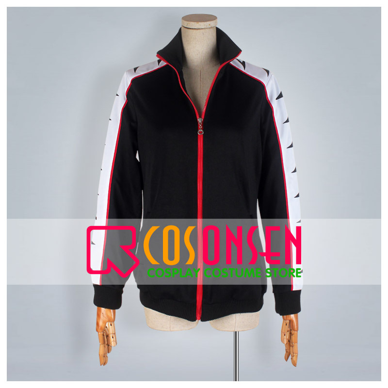 COSPLAYONSEN Free! Samezuka Academy Rin Matsuoka Sport Wear Cosplay Costume Coat Only