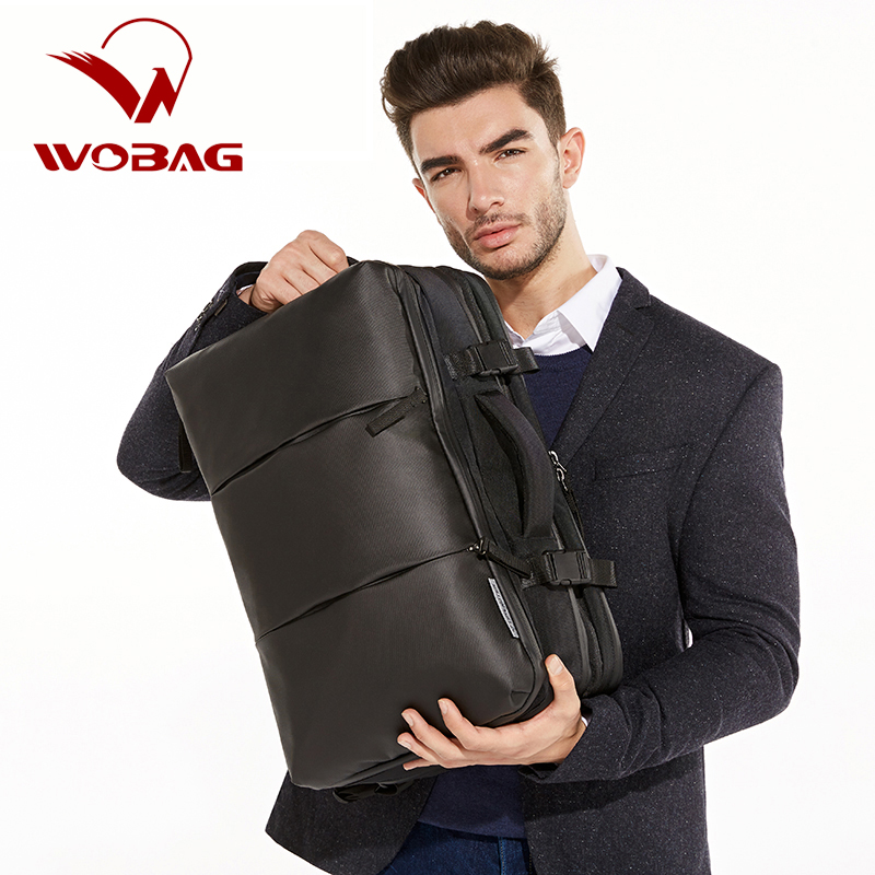 Men Oxford Laptop Backpack Shirts Pants Jeans Bags Canvas Bag Business Backpacks Travel Backpack mochila Brand Design Black цена