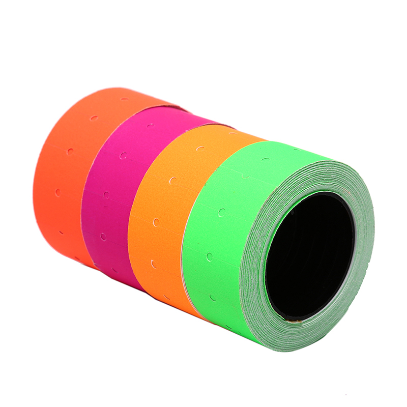 500Pcs/Roll Colorful Price Label Paper Tag Mark Sticker For MX-5500 Labeller500Pcs/Roll Colorful Price Label Paper Tag Mark Sticker For MX-5500 Labeller