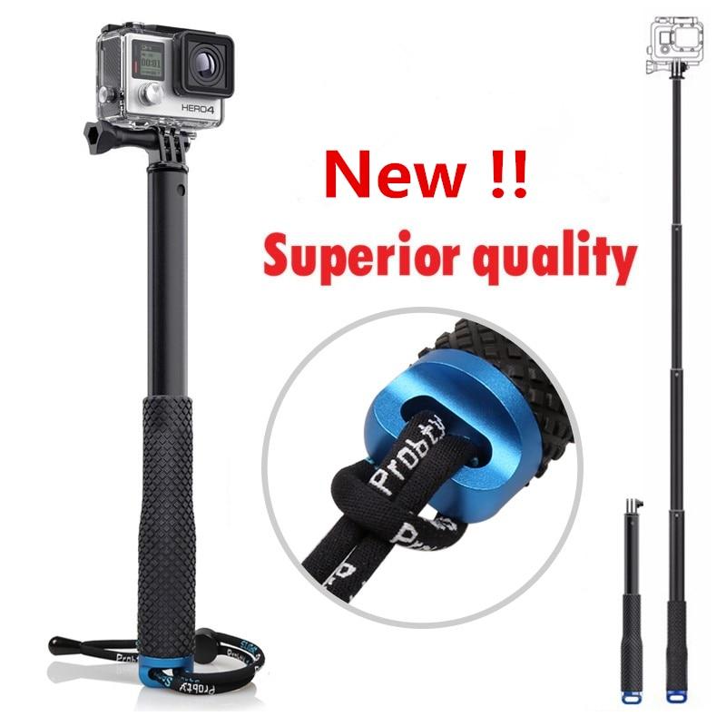 Gopro Aluminum Extendable selfie stick monopod For Action Camera Go pro hero 4 3 3 2