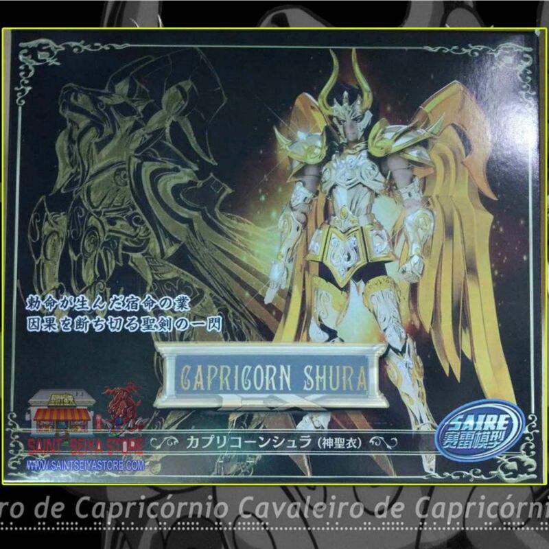 MC Saire Saint Seiya Myth Cloth Soul of God EX Capricorn Shura Action Figure