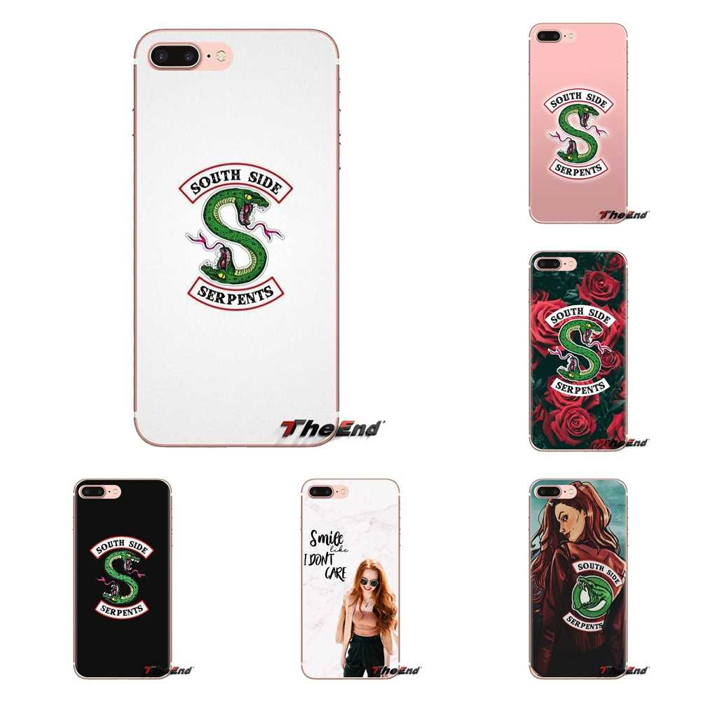 For Huawei G7 G8 P7 P8 P9 P10 P20 P30 Lite Mini Pro P Smart Plus 2017 2018 2019 Silicone Cases Cover tv riverdale cheryl blossom