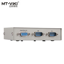 MT-Viki 2 Poort DB9 RS232 Switch Seriële COM Apparaat Console Printer Delen Selector Controller 232-2(China)