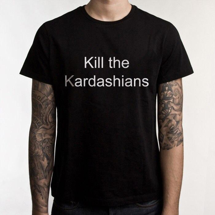 Kill the Kardashians t shirt Slayer Gary Holt black 100/% cotton tee