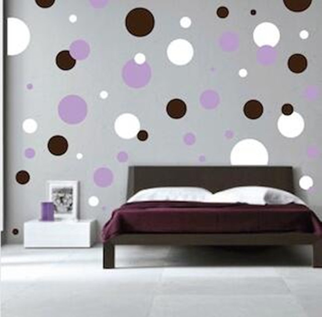 Polka Dots Wall Decals Wall Stickers Bedroom Stickers Room Decor Decal  Removable Wallpaper