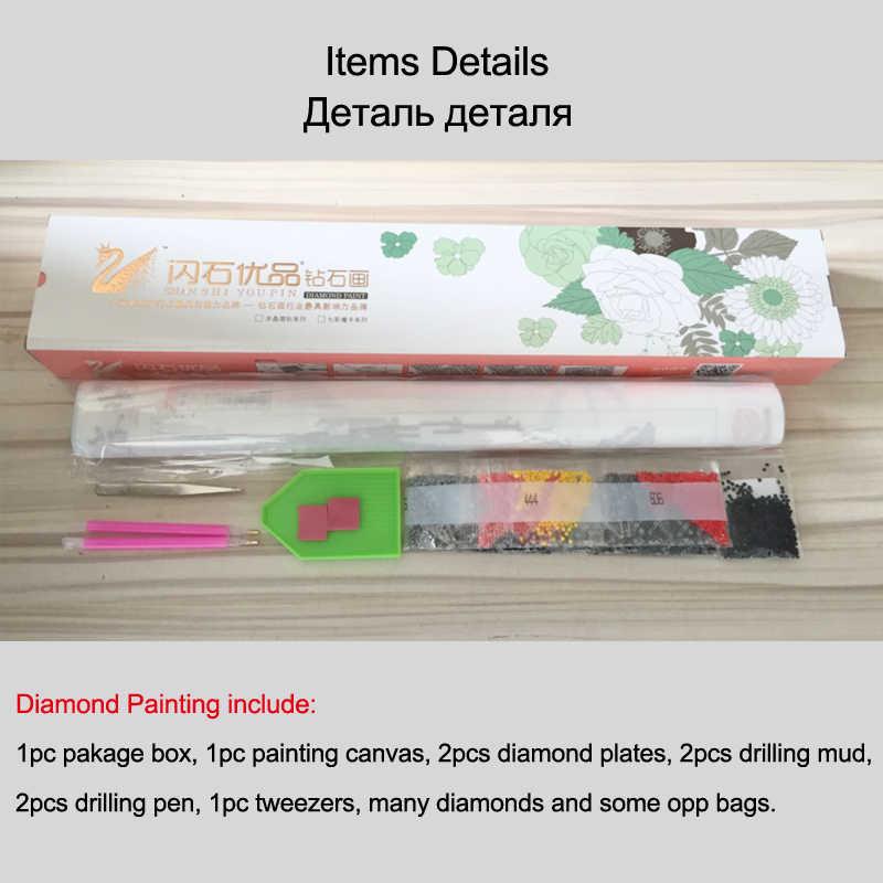 5D Diy Diamond Painting Animal Bat&Skull Cross Stitch Diamond Mosaic Needlework Diamond Embroidery Home Decor Handcraft