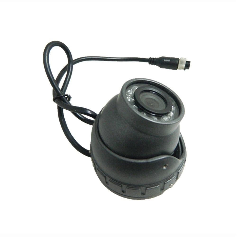 LSZ Metal Dome Car Camera Probe 600TVL Support Sony Sensor Truck Passenger Ship Universal HD Pixels