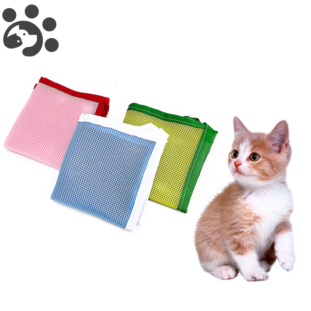 1pcs Cat Hammock Bed Home Pet Products Fabric Canvas Bottom Oxford Cloth Easily Clean Fashion Cute Pink Blue Cat Hammock Bed Home & Garden Pet Products