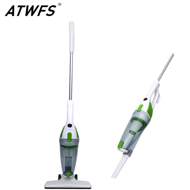ФОТО New ATWFS Low Noise Portable Handheld Vacuum Cleaner 2 in 1 Dust Collector Ultra Quiet Mini Rod Vacuum Cleaner for Home Cleaning
