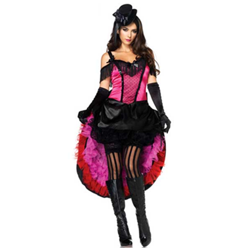 ladies women sexy burlesque skirt costume for carnival and burlesque dancing girl dance outfit party costume l1271 in sexy costumes from novelty special