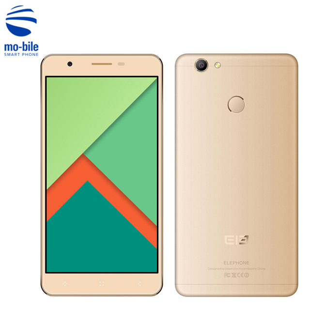 Elephone C1X 4G Smartphone Android 6.0 5.5 inch 2.5D HD Screen MTK6737 Quad Core 1.3GHz 2GB RAM 16GB ROM Fingerprint Cellphone