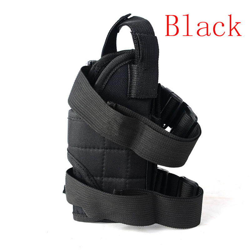 Adjustable Military Airsoft Holster Hunting Tactical Leg Gun Holster Pouch Fits GLOCK 17 19 M1911 BERETTA m9 Most Pistol in Holsters from Sports Entertainment