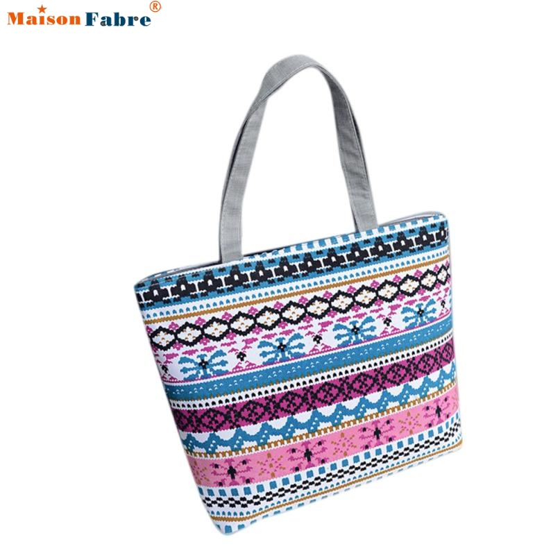 Fashion Women Girls Printing Canvas Shopping Handbag Shoulder Tote Shopper Bag Comfystyle san-13pin