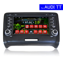 7 Inch Android Car DVD Player for Audi TT 2006-2013 Wifi TV Mirror-Link Radio Bluetooth 4G Glonass GPS Navigation Car Stereo