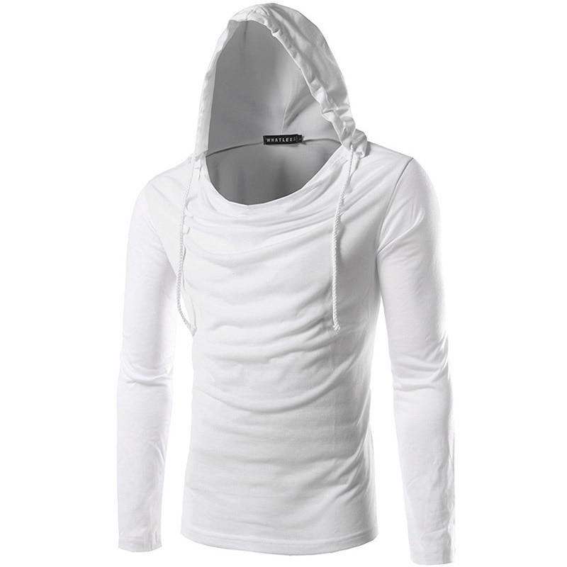 Popular Mens Hooded T Shirt Long Sleeve-Buy Cheap Mens Hooded T ...