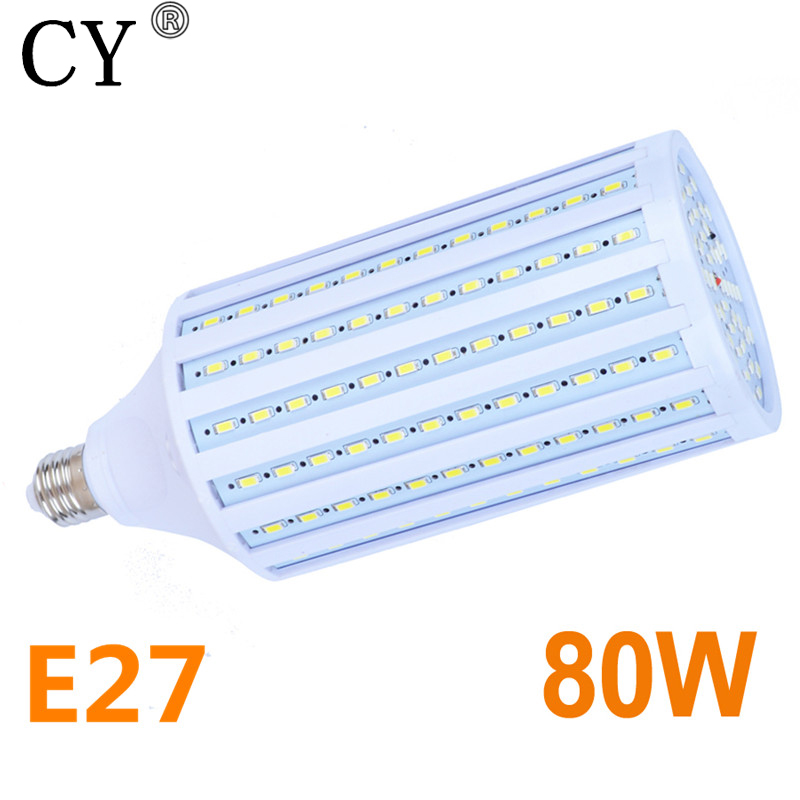 E27 220V Photo Studio Constant Current 80W LED Bulbs Lamps LED Light LED Corn Bulbs & Tubes Photographic Lighting
