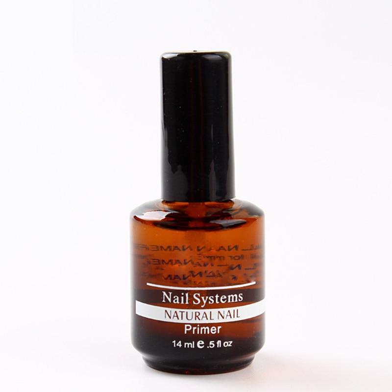 14ml Natural Nails Primer Nail Art Tools Acrylic Tips Base Coat Uv Gel Polish Gel Removing
