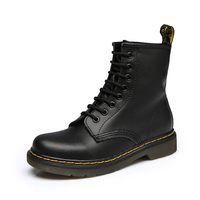 split Leather Brand Martens Women Ankle Boots Women Dr Luxury Martin Boots High Top Motorcycle Autumn Winter Shoes