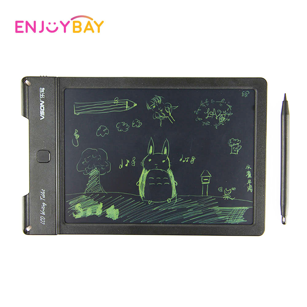 EnjoyBay Smart LCD Writing Tablet Toy Electronic Drawing Board Portable Handwriting Pad Educational Gifts for Children Adult