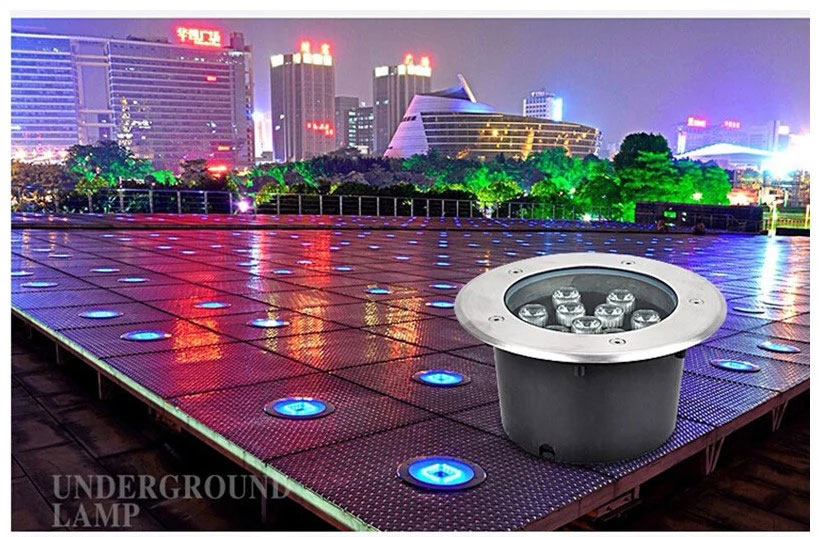 V 12 V 1 W LED Subterrâneo