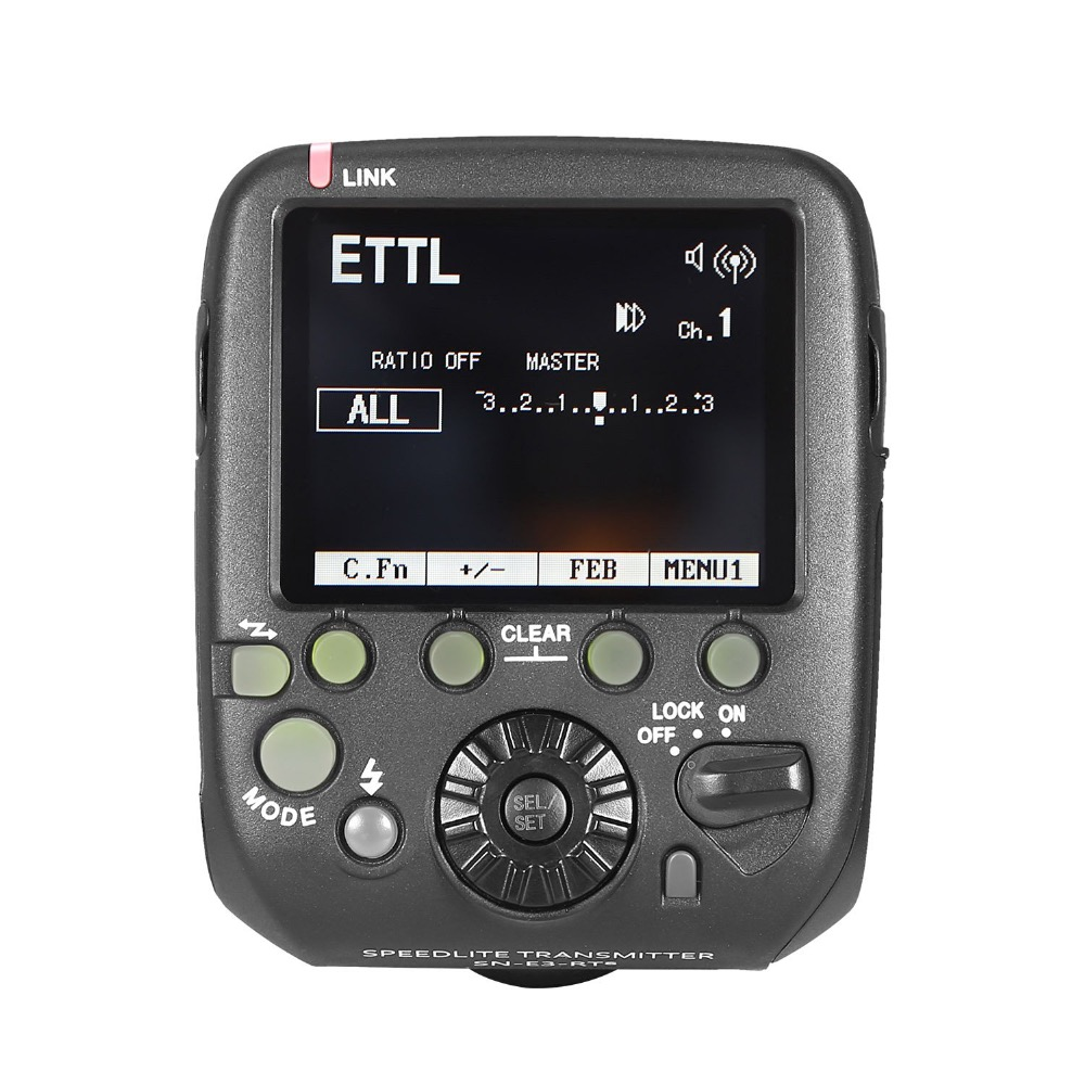 SN-E3-RTs 2.4G Speedlite Wireless Transmitter Trigger for Canon speedlite flash 600ex-RT DSLR yn e3 rt ttl radio trigger speedlite transmitter as st e3 rt for canon 600ex rt new arrival