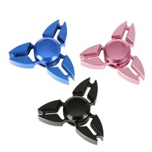 Finger Spinner Fidget EDC Hand Spinner For Autism and ADHD Relief Focus Anxiety Stress Gift Toys Aluminum Alloy Hollow