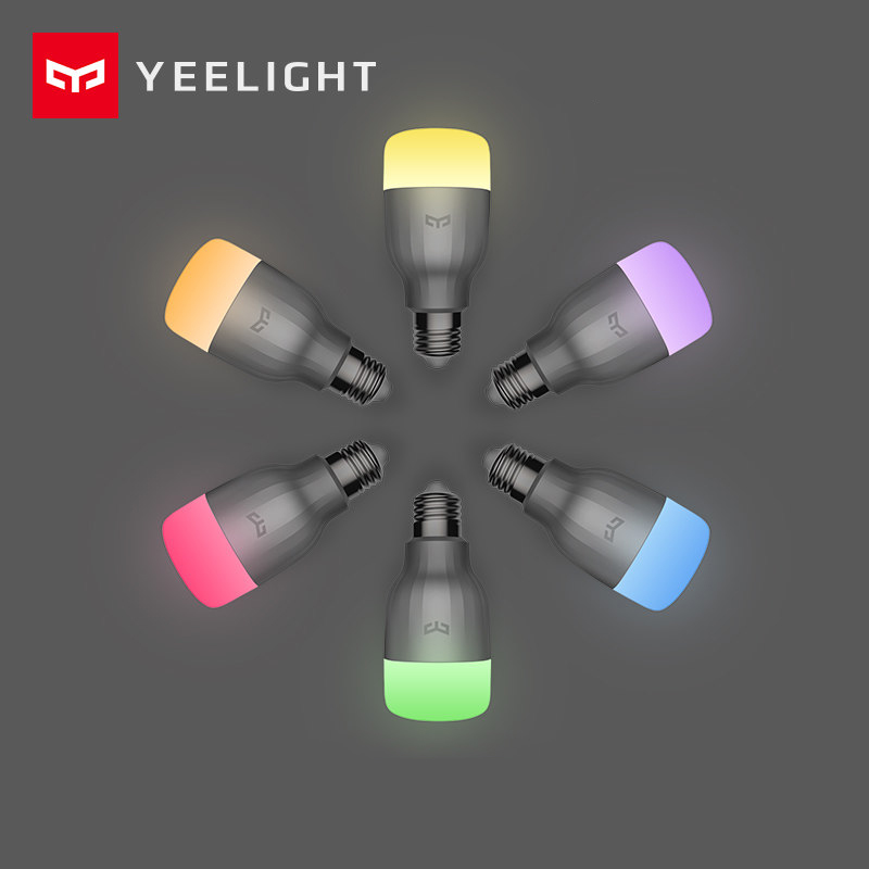 Original XiaoMi Yeelight LED Smart Bulb (color) WiFi Remote APP Control Dimmable Brightness Home Decoration Reading Mi Light