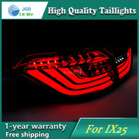 Car Styling Case For Hyundai Ix25 Hyundai Creta Taillights Tail Lights LED Tail Lamp Rear Lamp