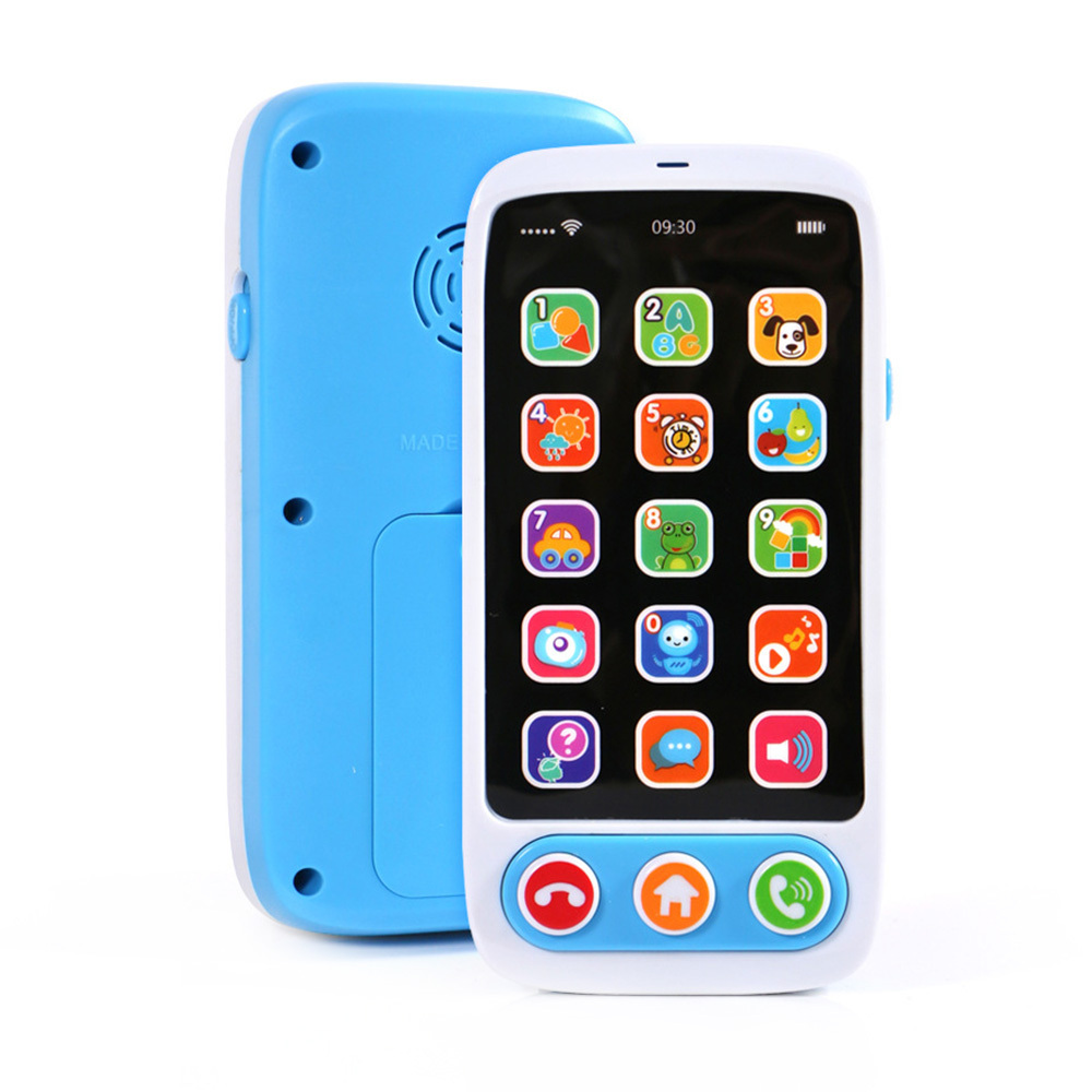 Lectronic Toy Phone Kid Mobile Phone Cellphone Telephone Educational Learning Toys Music Baby Infant Phone Best Gift For Kid Rat