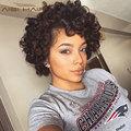 Brazilian Human Hair Sew in Weave Aunty Funmi Bouncy Curls Romance Curl Virgin Hair 8 10 12 Inch Curly Crochet Hair Spiral Curls