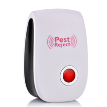 Electronic Ultrasonic Insect Repeller Mouse Pest Control Rejector Anti Mosquito Repellent For Cockroach Rat Bug Pest Rejection
