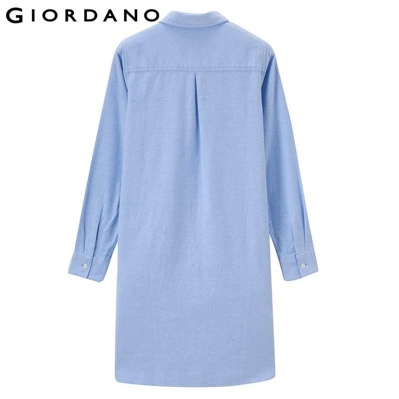 Longues Robe Doux Lady Femmes Flanelle Giordano Chemise Vêtements Robes De Femininas Manches Coton À 28blue Mode Casual Carreaux 26blue xqFEwz5pfE
