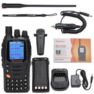 Image 5 - Wouxun KG UV2Q 8 W haute puissance 7 bandes, y compris bande dair répéteur de bande croisée talkie walkie mise à niveau KG UV9D Plus Radio jambon