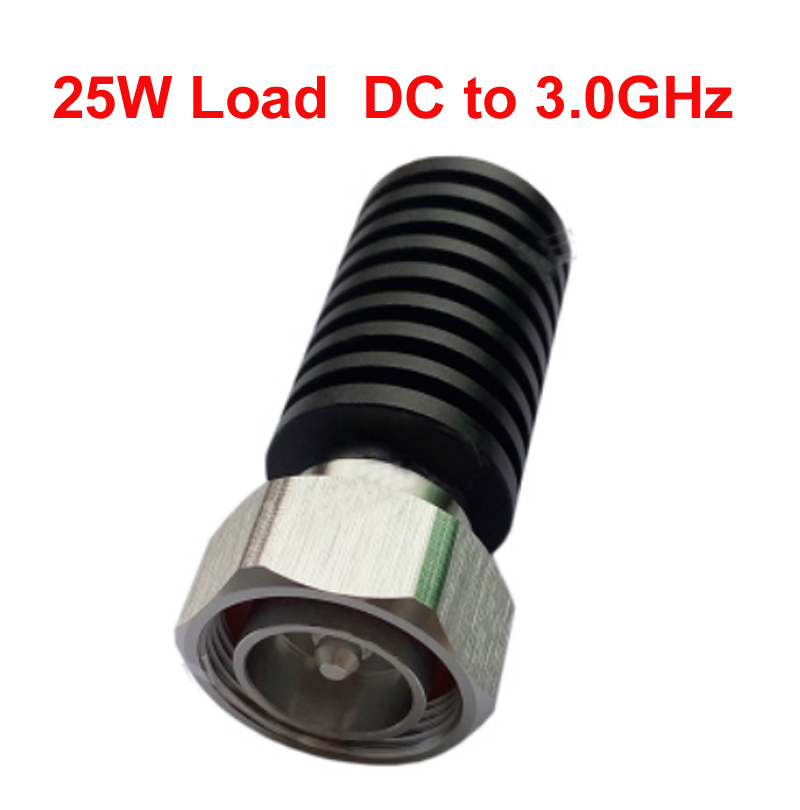 telecom RF load 25W dc-3ghz cable feeder 7/16 DIN male RF COAXIAL cable jack connector cable load cable communication converter