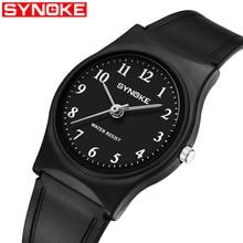 SYNOKE Fashion Mens Watches Brand Luxury Quartz Watch Men Casual Slim Mesh Steel Waterproof Sport Figure Male Wrist