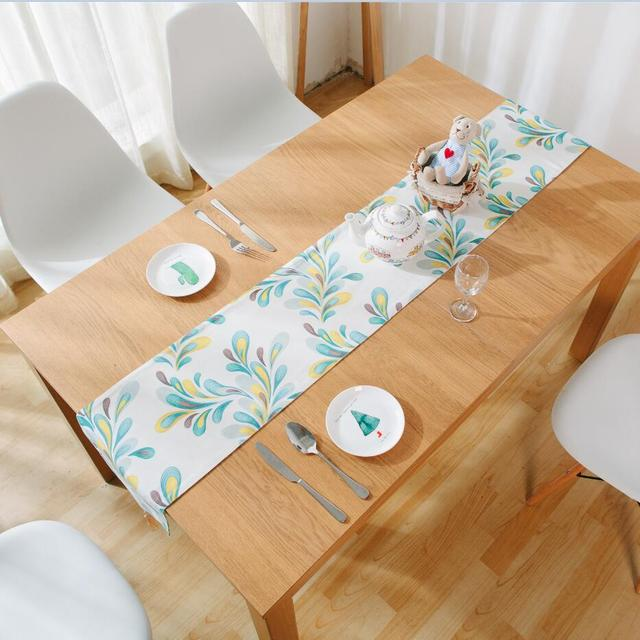 American Pastoral Village Double Duplex Printing Gift Table Cloth  Manufacturers Selling Custom TV Cabinet