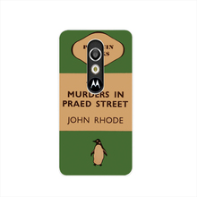 07154 penguin murders praed street housing Cover cell phone Case for Motorola Moto G3 G 3rd Gen Generation