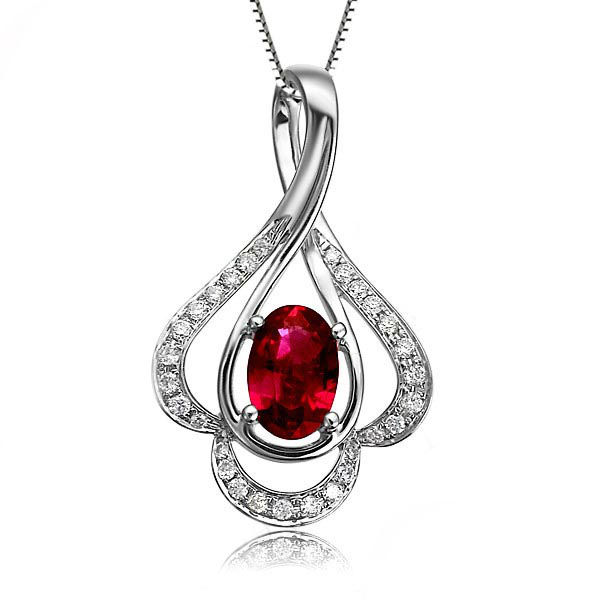 Buy love gift gvbori ruby gemstone for Fine jewelry diamond pendants