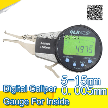 5-15mm Electronic caliper gauge for inside measurement digital caliper gauge