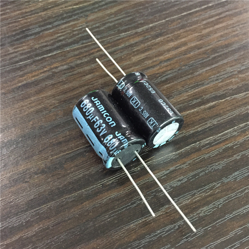 10pcs 680uF 63V JAMICON TK Series 16x25mm High Quality Original 63V680uF Aluminum Electrolytic Capacitor