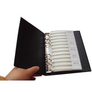 Image 5 - Darmowa wysyłka 0603 SMD próbki książki 37 wartości 1875 sztuk zestaw rezystorów i 17 wartości 600 sztuk zestaw kondensatorów