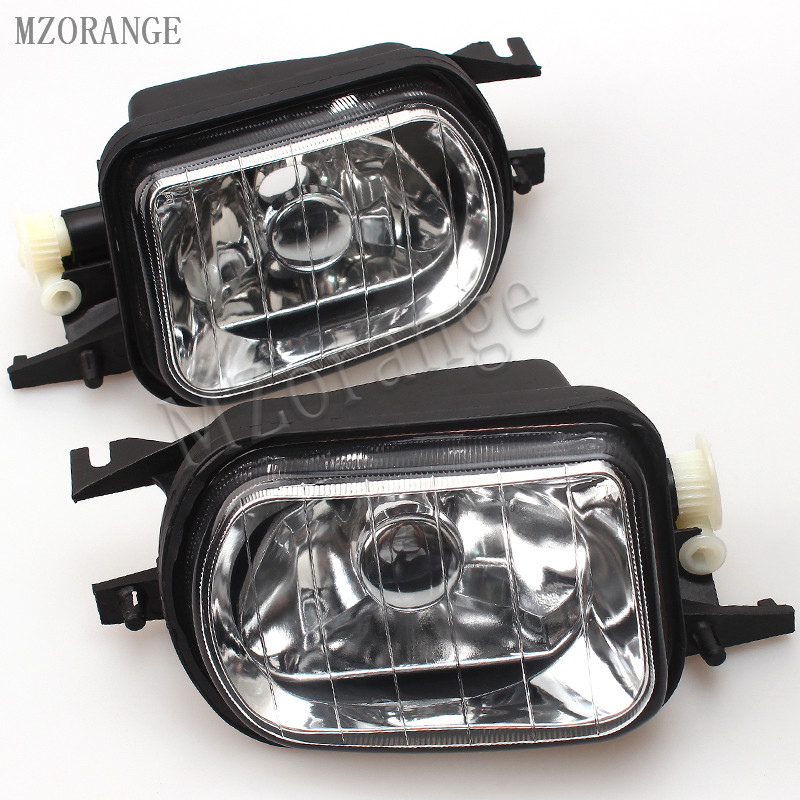 MZORANGE Front Bumper Fog Light For Mercedes Benz W203 C-Class C320 C240 C230 C350 C280 2006 2007 Foglight Lamp Without Bulb pp class front car mesh grill sport style fit for benz w203 c 2000 2006