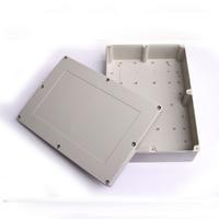 ผนังตู้ติดพลาสติกกล่องไฟฟ้าPCBกล่อง380*260*105มิลลิเมต